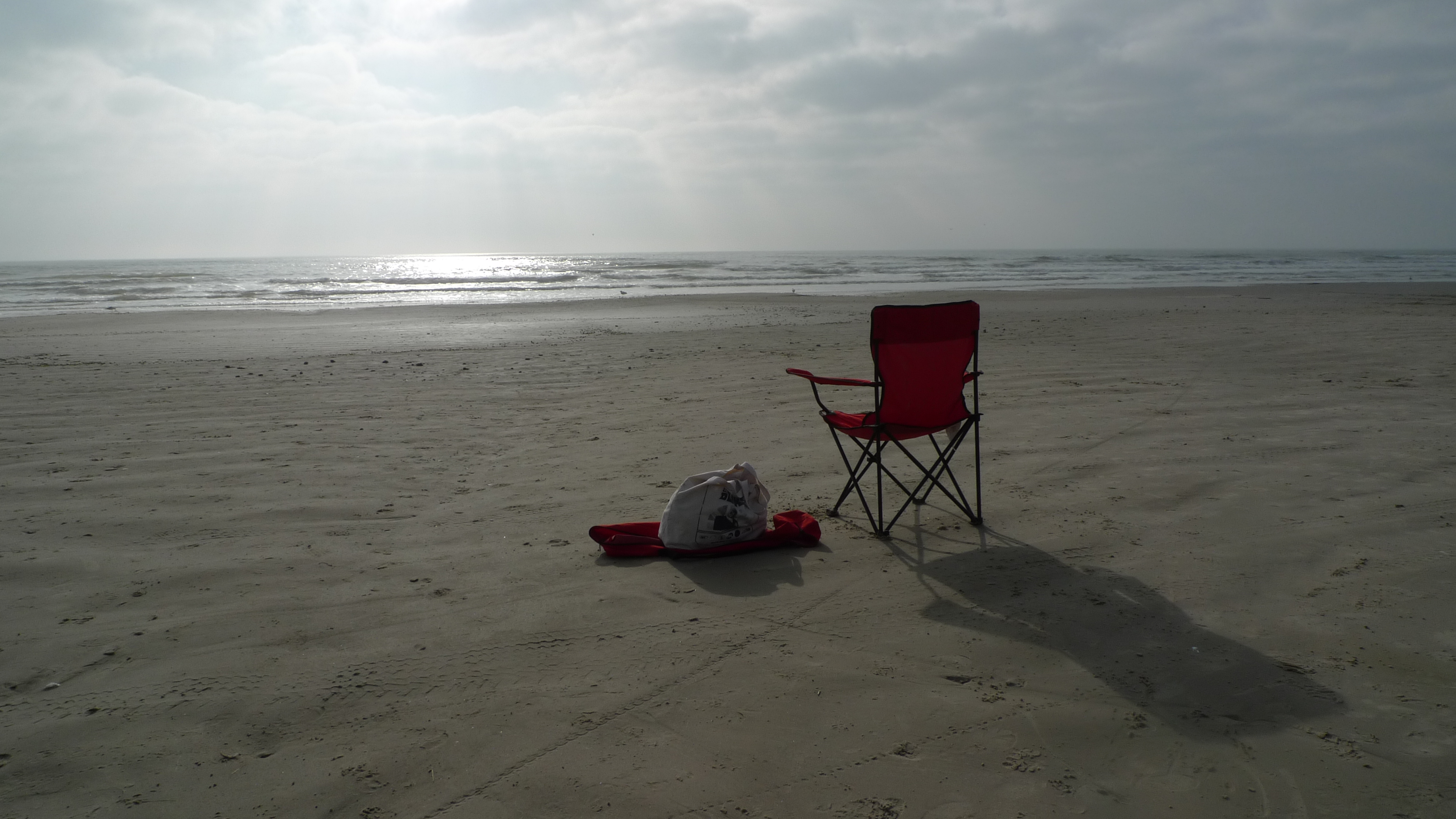Photo of empty beach
