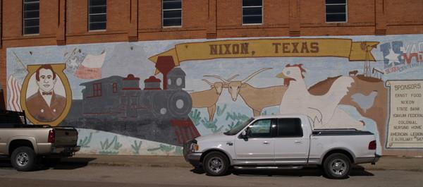 Nixon, TX mural